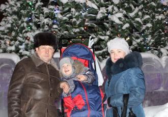 Семья Лесконоженко из Ноябрьска